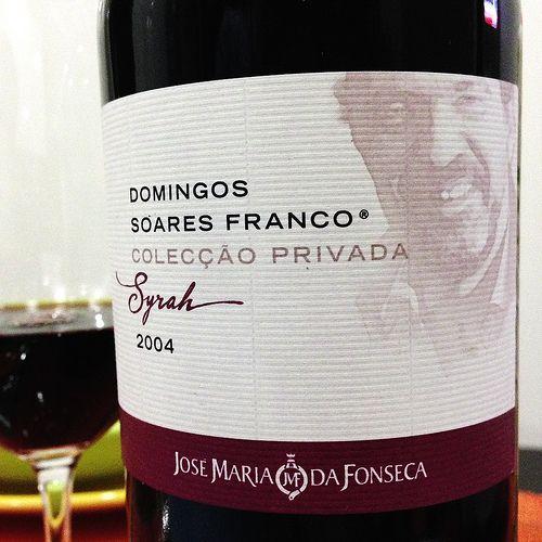 Domingos Soares Franco Colecção Privada Syrah 2004