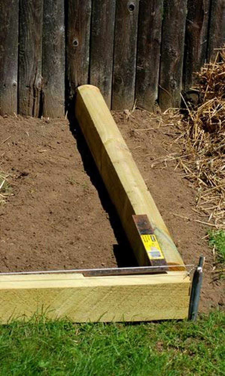 Landscape Timbers Driveway Edging : Best ideas about landscape timber edging on wood railway sleepers garden