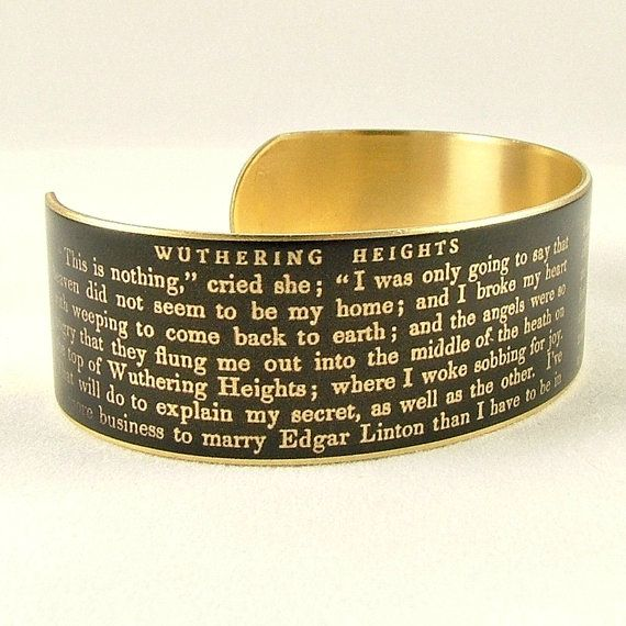 Wuthering Heights Cuff Bracelet | 17 Book-Inspired Accessories You'll Want Immediately