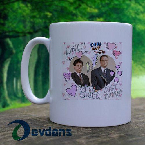 Dean Strang and Jerry Buting Crush Mug, Ceramic Mug,Coffee Mug