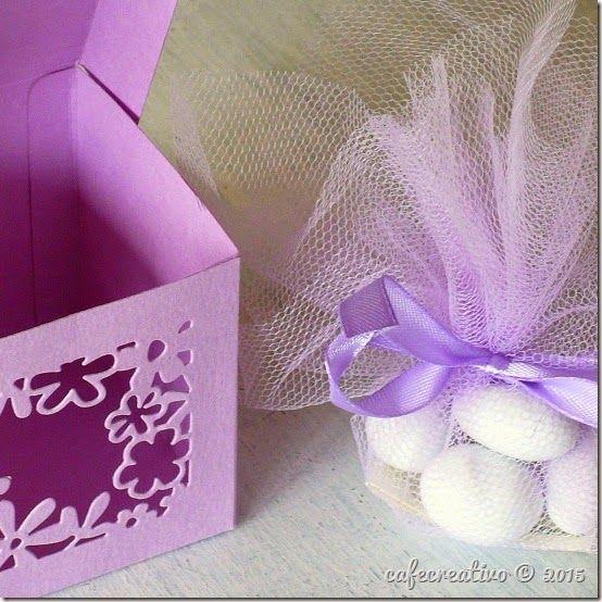 favor box, Sizzix Big Shot Plus starter Kit; Scatoline bomboniere