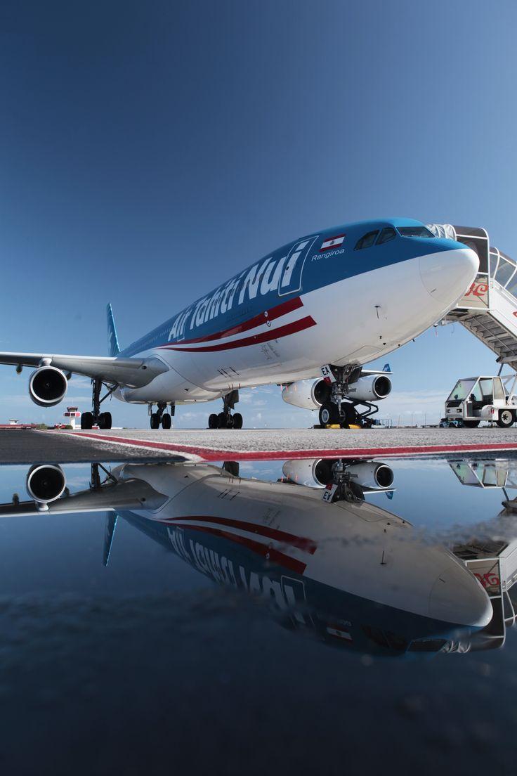 "Emmy DE * Air Tahiti Nui Airbus A340-313 F-OSEA ""Rangiroa"" ~ Travel in Style ✈"