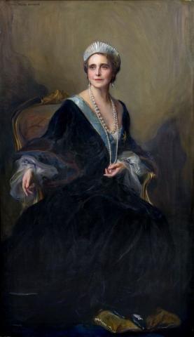 Queen Marie of Romania, née Princess Marie of Edinburgh 1936, by Phillip de Laszlo,