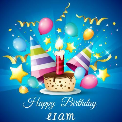 Write Name on Happy Birthday Celebration Profile Pics