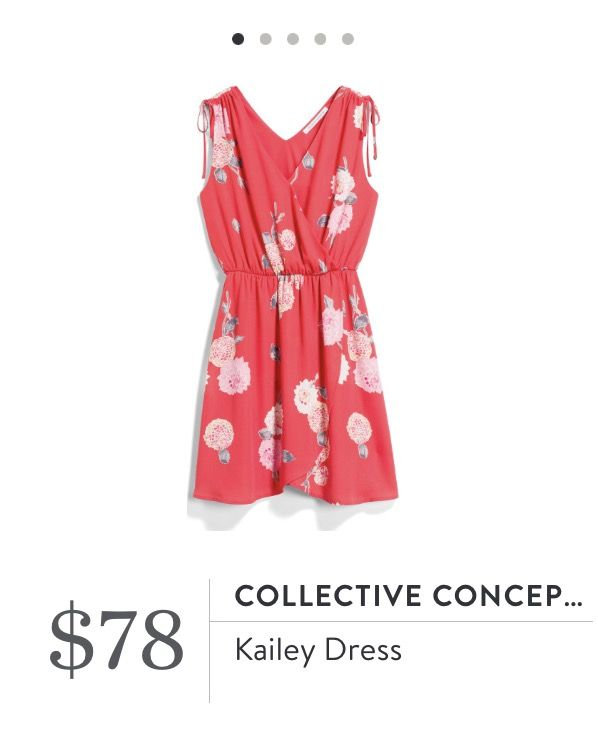 ~~~just in for your May 2017 fix!!!! Gorgeous red floral dress. Try STITCH FIX today, just click the picture to get started with your own personal stylist! Stitch fix spring. Stitch fix summer. #affiliatelink
