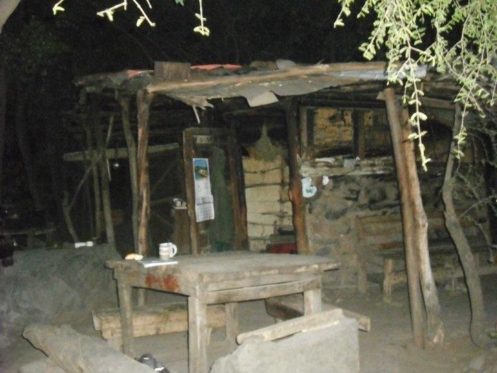 la casa de Daniel Tobar, el ermitaño de la quebrada de macul