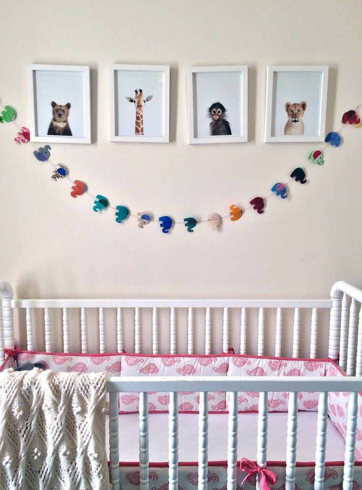 """Her advice for anyone decorating a nursery? """"It doesn't have to have a theme,"""" she says. """"It should have some sophistication but still be ju..."""