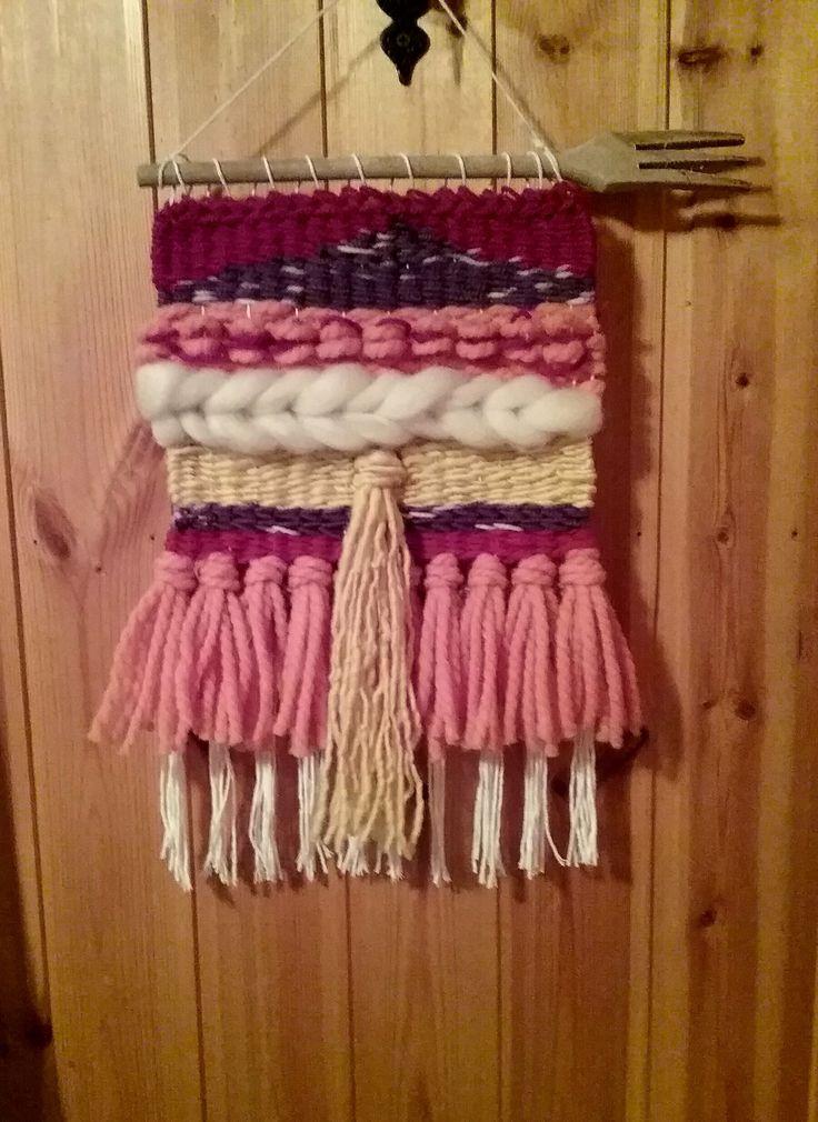 Piccolo arazzo #weaving #wovenwallhanging