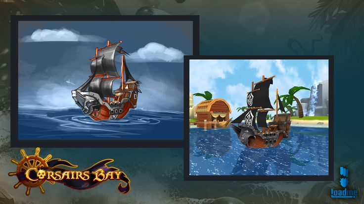 Pirate Battles: Corsairs Bay. This is how sketches became the real game content. Like our game on Facebook: https://www.facebook.com/pages/Pirate-Battles-Corsairs-Bay/935034283176964?sk=timeline