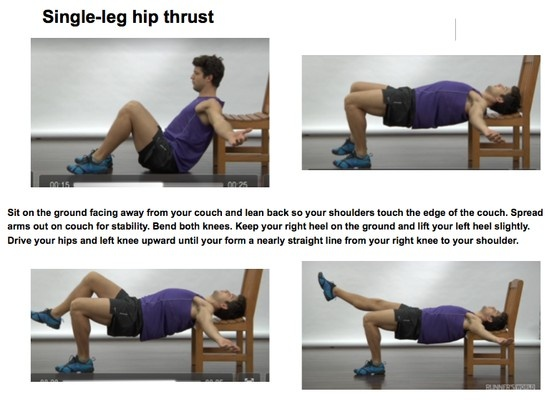 Single-leg hip thrust | EXcellent EXercises (unsorted ...