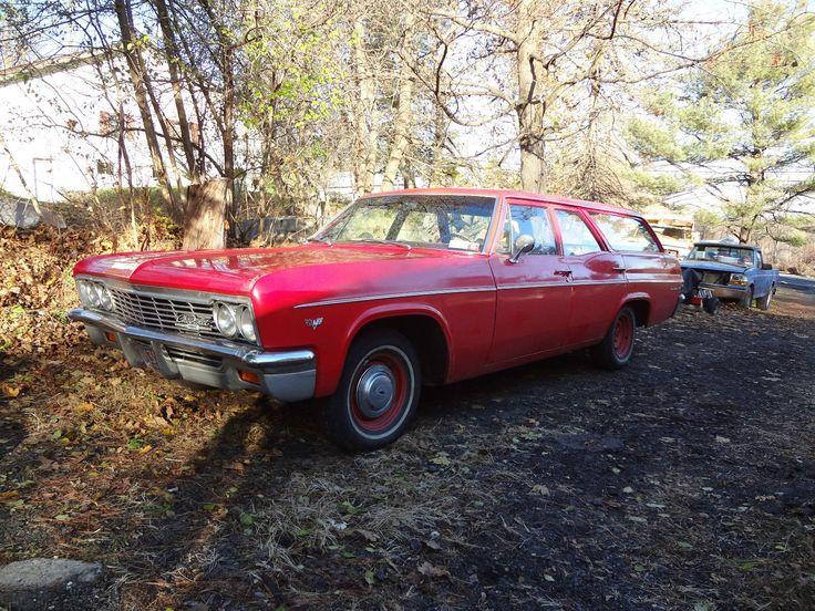 1966 Chevrolet Belair Station Wagon .Recent lhd import