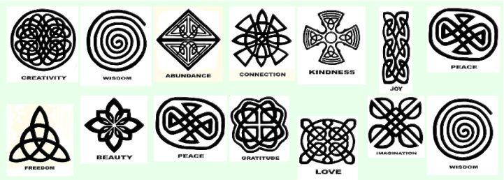 Family Tree Tribal Tattoo Symbols Of Wisdom Symb...