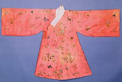 Hanfu from China, Ming Dynasty. Founded in 1368 AD by Zhu Yuanzhang, this was the last feudal dynasty in Chinese history. Spanning over 276 years and 19 emperors, it was drawn to an end in 1644 AD. This was due to tax increases, widespread military desertions, and natural disasters such as floods and famines.