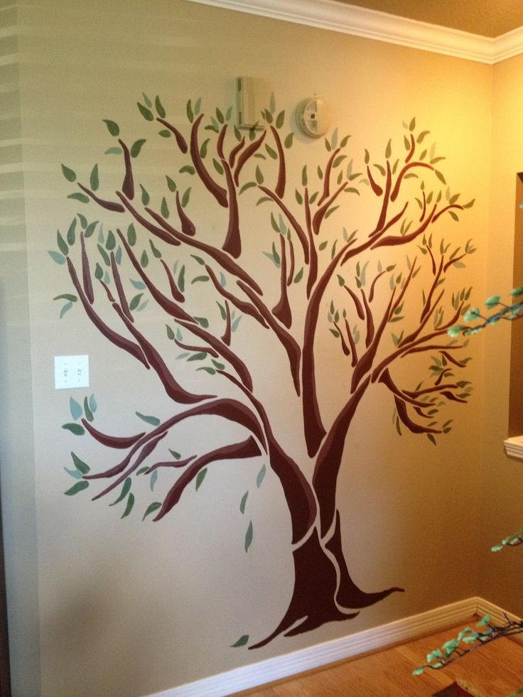 17 Best Images About Family Tree Wall Paintings On