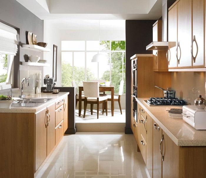 Metropolitan Natural Oak kitchen