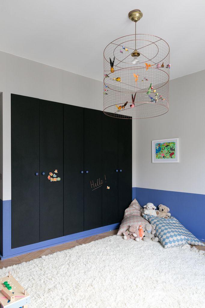 Rangements chambre enfant Appartement parisien de 250m2- GCG Architectes
