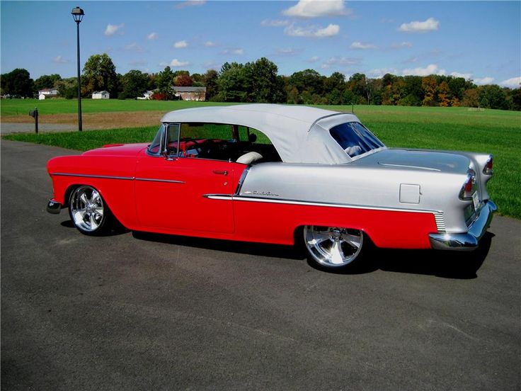 1955 CHEVROLET BEL AIR CUSTOM CONVERTIBLE   Barrett Jackson Auction Company    Worldu0027s Greatest Collector