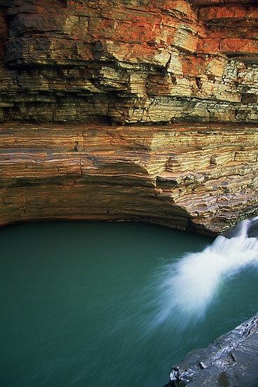 Kermits Pool in #karijini National Park #westernaustralia