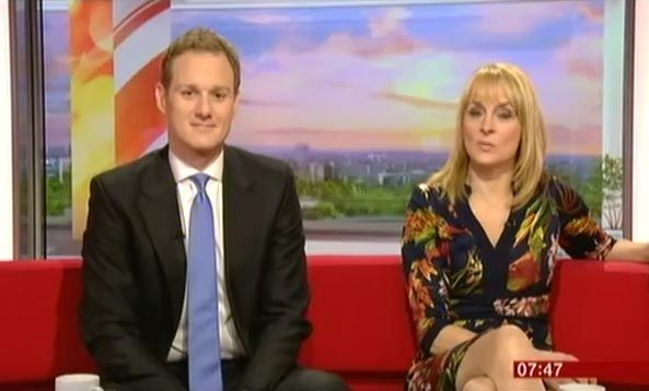 The decision to seat Bill Turnbull's replacement Dan Walker on the left of the more experienced Louise Minchin has sparked outrage among some viewers