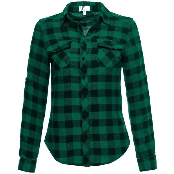 25 great ideas about green flannel on pinterest for Green and black plaid flannel shirt