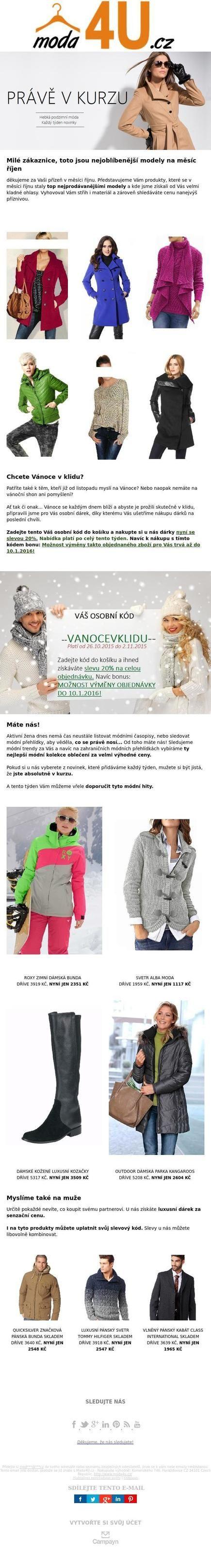 Great newsletter From Moda4U.cz - Nakupujte výhodně! http://cm.pn/1ehd