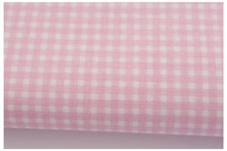 9. Light pink mini check