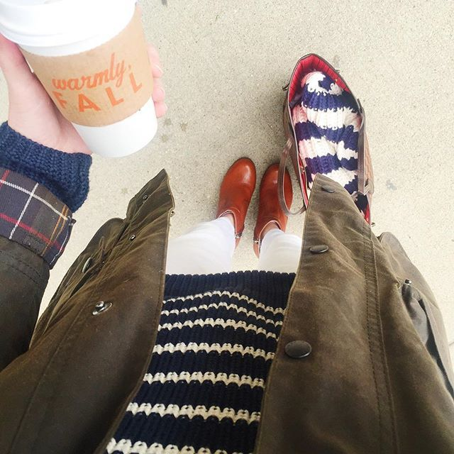 First of the season. ☕️ #mylandsend  @liketoknow.it www.liketk.it/1MYIy #liketkit