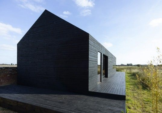 Stealth Barn is a Striking Black Guest House Converted from a Plain Barn | Inhabitat - Sustainable Design Innovation, Eco Architecture, Gree...