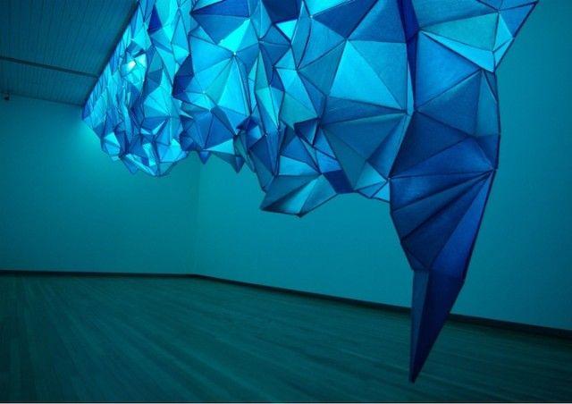 What Lies Beneath - paper iceberg