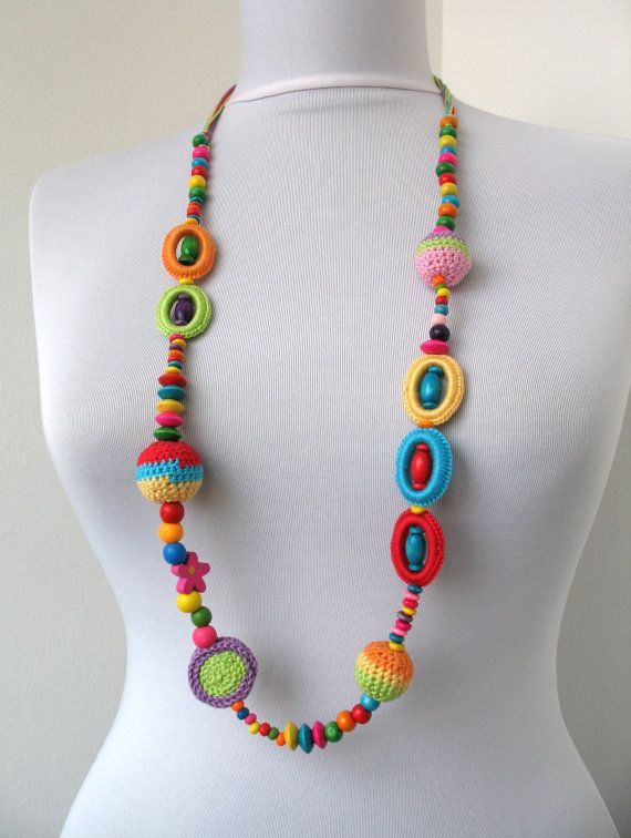 Collection Summer Fiesta  Multicolor Crocheted by DreamList, $35.00