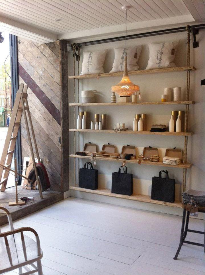 Folklore design store by Danielle Reid, London store design
