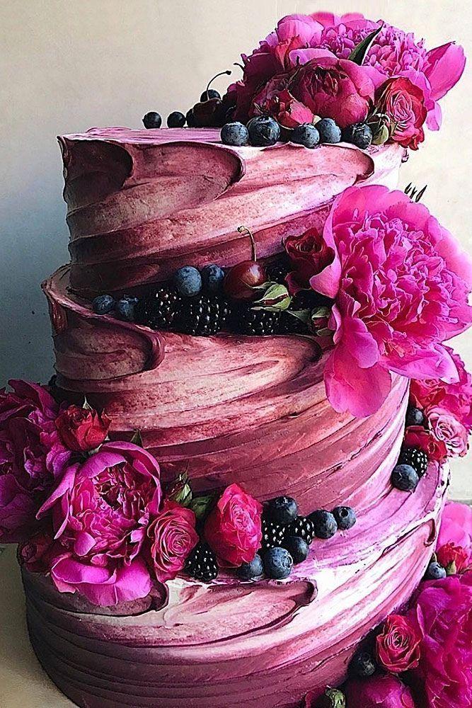 42 Spectacular Buttercream Wedding Cakes #butter cream #wedding cakes #spec … – Hochzeit & co