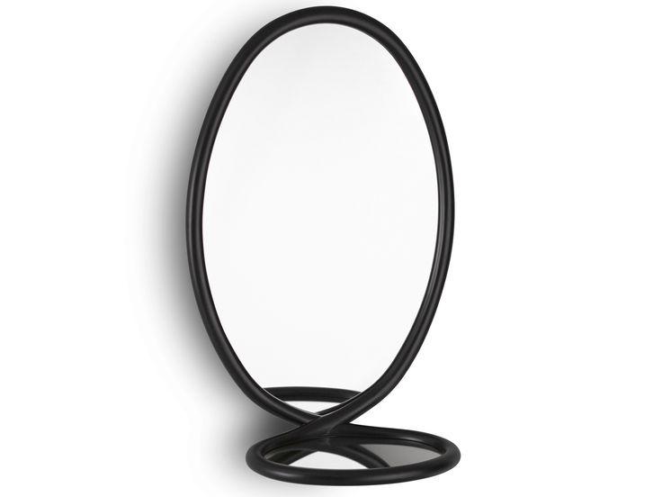 Specchio ovale con cornice LOOP by Porro design FRONT