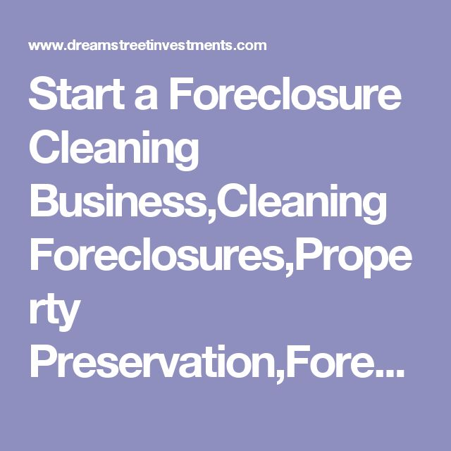 64 best Foreclosure Cleanup Business images on Pinterest - reo specialist sample resume