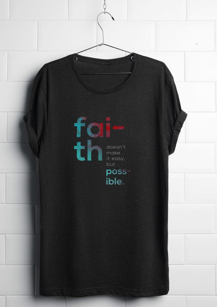 "Check out this @Behance project: ""Faith t-shirt design."" https://www.behance.net/gallery/53696253/Faith-t-shirt-design"