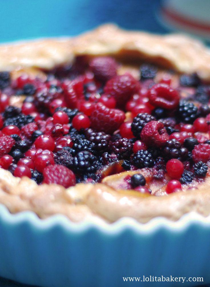 Lolita bakery, Barcelona. Postres y pies deliciosos. #pie #jamboree #berries #blueberry #cream #barcelona #teatime