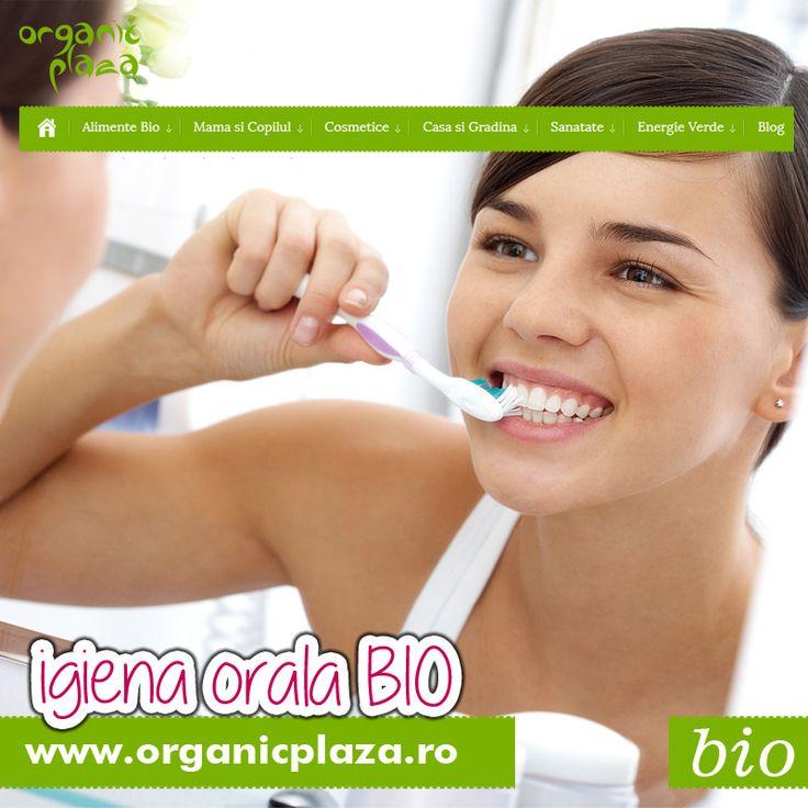 Pasta de dinti si apa de gura BIO! 10% REDUCERE daca folosesti codul ORALBIO in comanda  Descopera-le mai jos: http://organicplaza.ro/igiena-orala