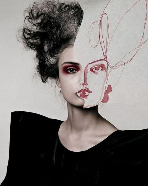 Vogue Italia, November 2007.  Anna Maria Urajevskaya by Michelangelo Battista.