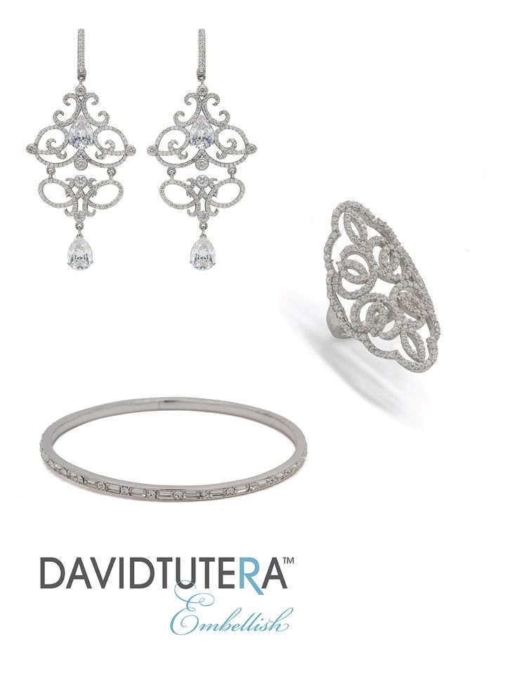 33 best david tutera accessories images on pinterest for David tutera wedding jewelry collection