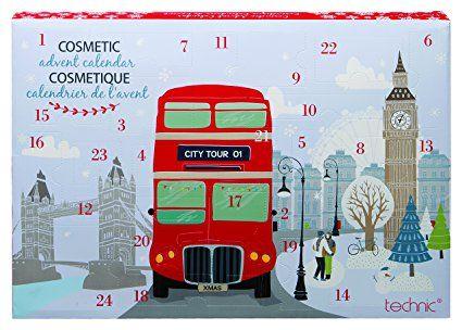 Technic Cosmetic Advent Calendar, London Bus