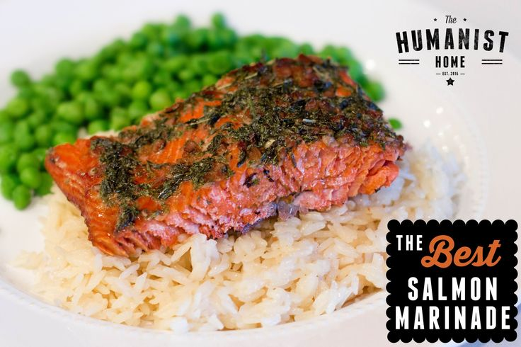 The BEST Salmon Marinade