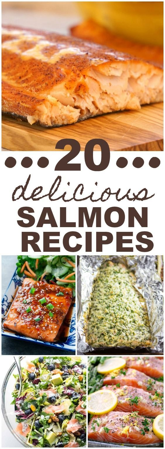 This round-up of 20 Delicious Salmon Recipes has something for everyone with choices ranging from salad to smoker recipes to a sheet pan meal. With so many tasty choices, the hardest part will be deciding which salmon recipe to try first!