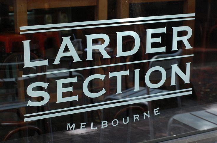 Larder Section, Hardware Lane