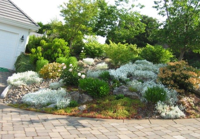 Landscaping ideas for slopes landscape ideas hillside for Garden designs for slopes