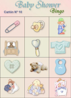 loteria baby shower 10
