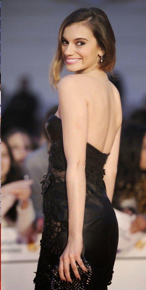 L'attrice spagnola ed ex-ballerina Norma Ruiz ha indossato un abito Ermanno Scervino della collezione Resort SS14 durante il Malaga Film Fes...