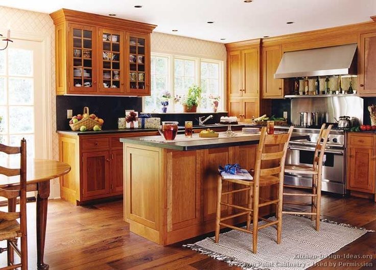 cheap oak kitchen cabinets oak cabinets black counter top kitchen ideas 13443