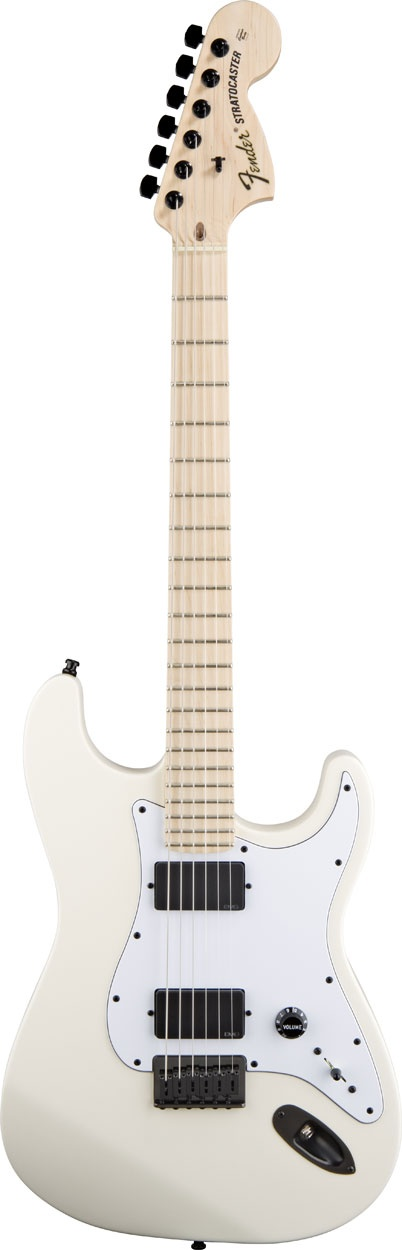 Jim Root Stratocaster®, Maple Fingerboard, Flat White
