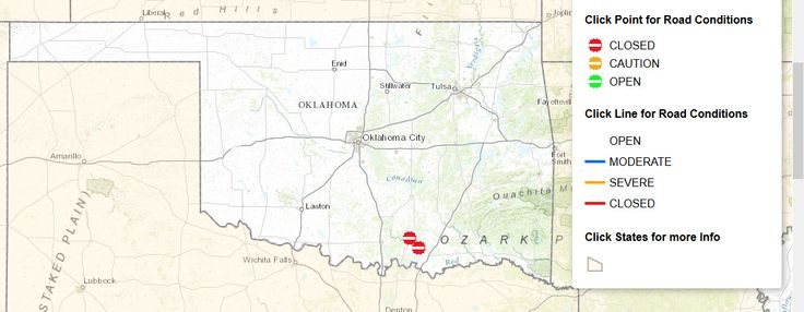 The+Oklahoma+Department+of+Transportation+has+announced+a+new+hotline+number+and+aninteractive+highway+conditions+mapthat+can+help+Oklahomans+during+winter+storm+events.