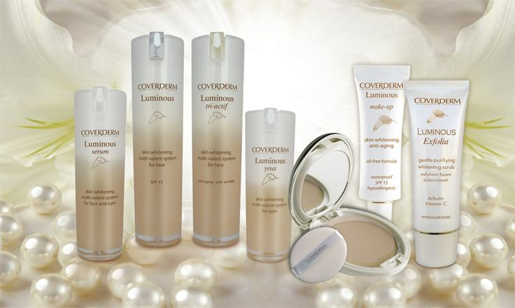 Coverderm Luminous range